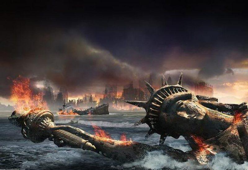 fallen Lady-Liberty
